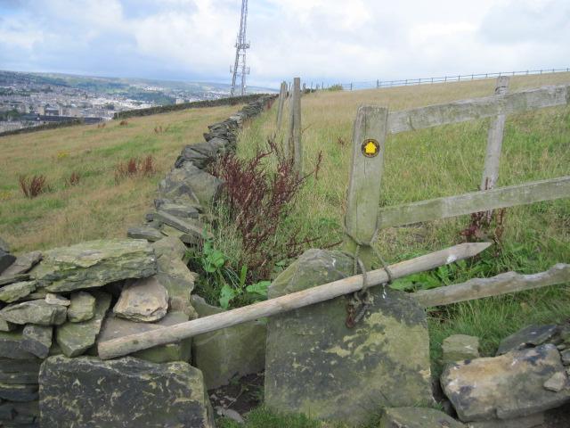 Footpath towards Higgin Lane, Southowram