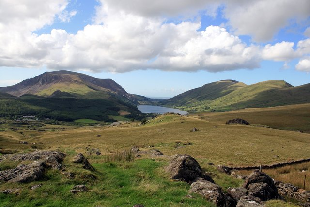 View from the Rhyd-Ddu path