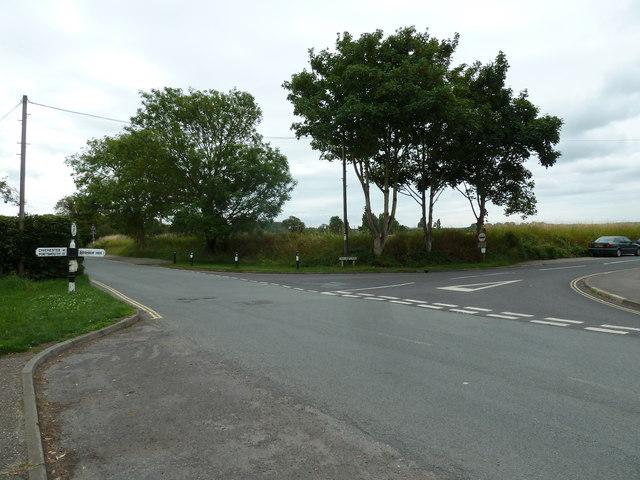 Looking from Bosham Lane towards Taylors Lane
