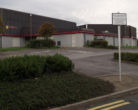 Mirfield Sports Centre, Kitson Hill Road