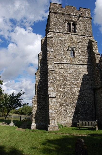 The Leaning Tower of Newchurch