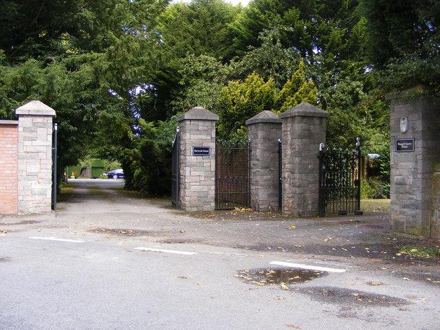Harwood House Gate