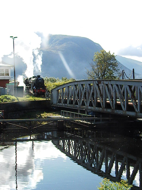 The Jacobite at Banavie