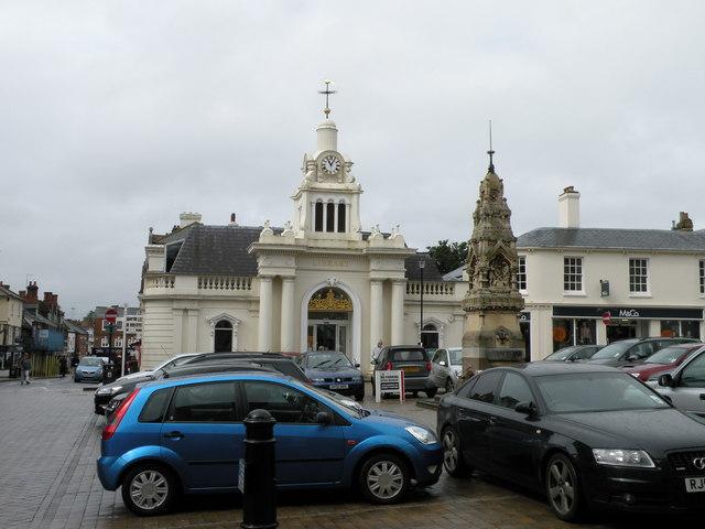 Saffron Walden Market Place