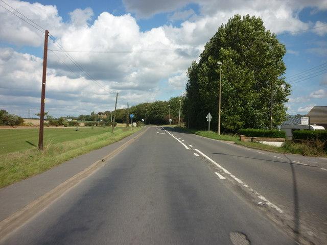 Boston Road north of Gosberton