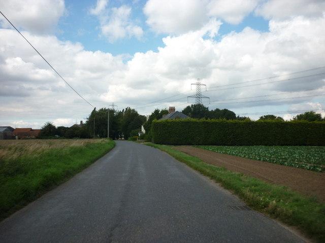 Rushy Drove near Pond Farm