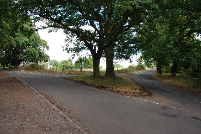 Road Junction, Kinver Edge