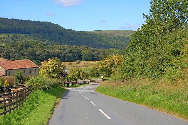 Road at Hardwick Farm