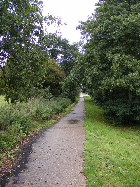 Footpath to Blyth Road & Blyth Road Industrial Estate