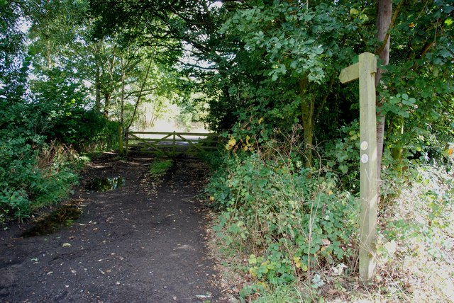 North Worcestershire Path Signpost