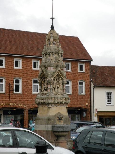 Saffron Walden Market Fountain