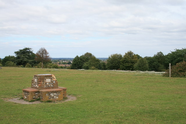 Winey Hill: viewpoint