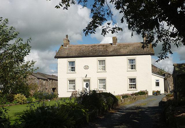 The farmhouse at Little Crimbles