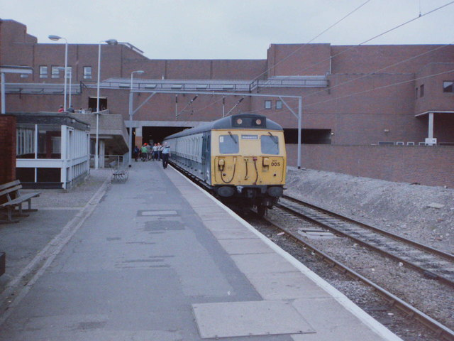Walsall Station, 1985