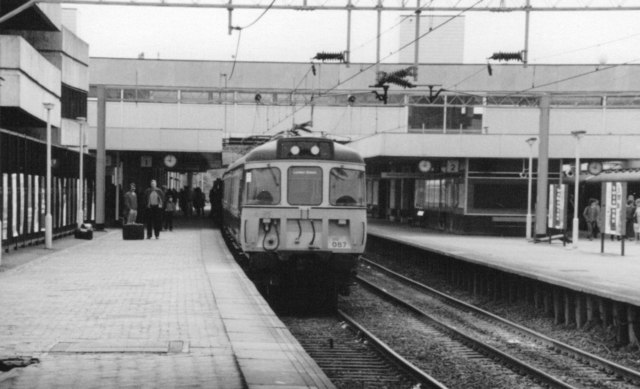 Coventry Station, 1982