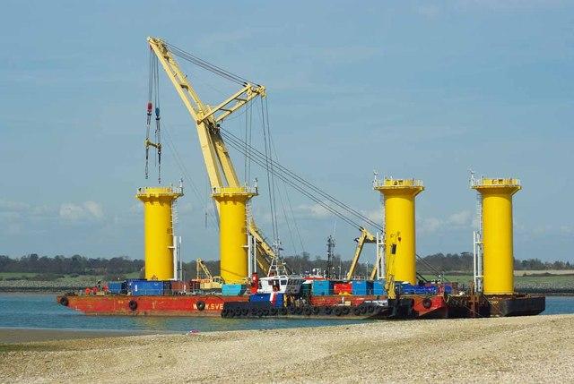 Gunfleet Construction Barge