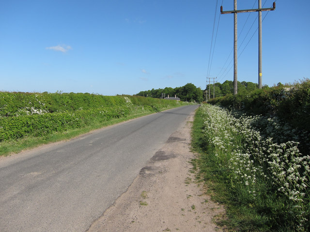 Heath Road towards Exning