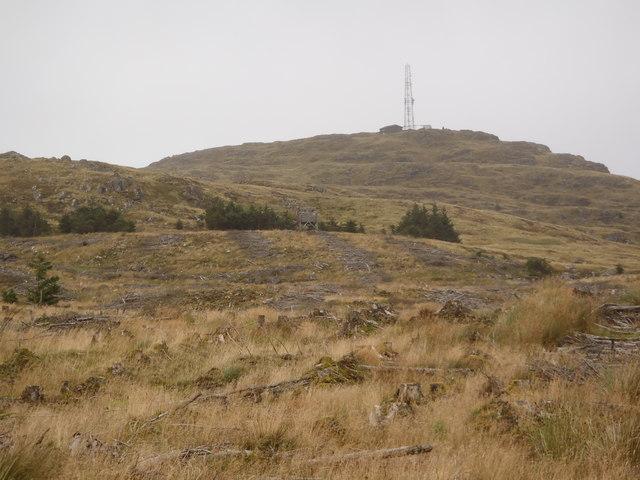 Fire Tower below Bennan Hill
