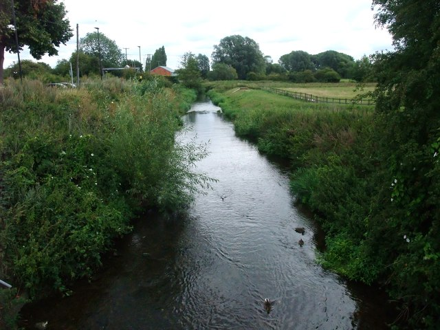 The River Soar from Station Road, Narborough