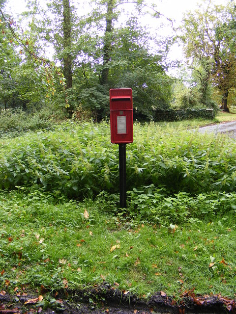 Boulge Postbox at Park Gate Corner