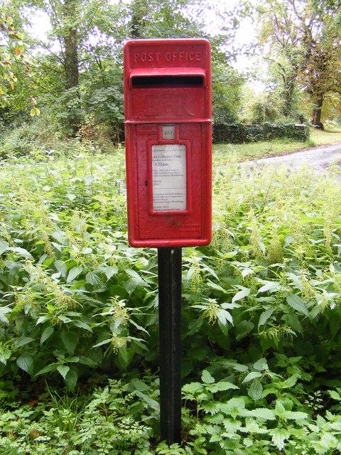 Boulge Postbox at Park Gate Corner