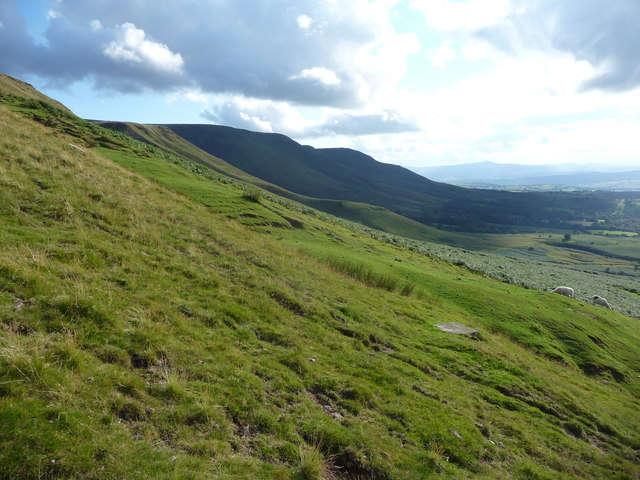 On the northern escarpment of the Black Mountains