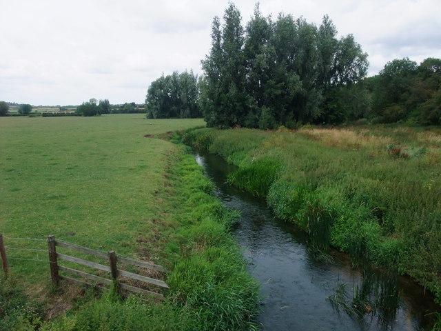The River Soar from Langham Bridge