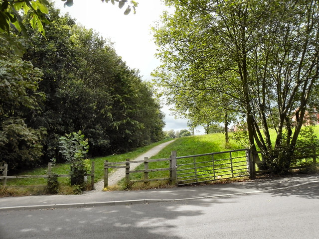 Path from Well Street