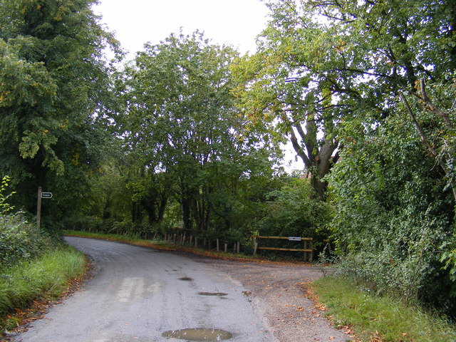 Boulge Road & the footpath to Boulge Park