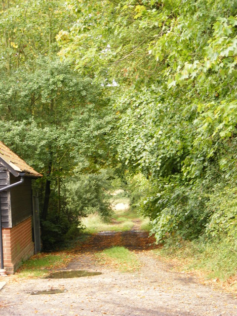 Footpath to Boulge Park