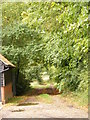TM2551 : Footpath to Boulge Park by Adrian Cable