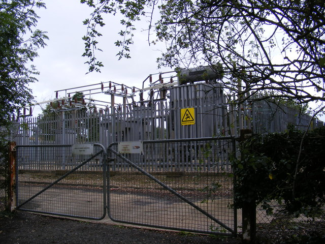 Electricity Sub Station on Manor Road