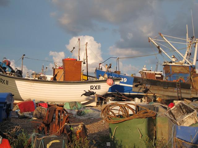 Boats at Fishermen's Stade