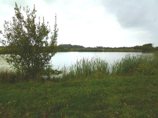 Lower Pennington, lake