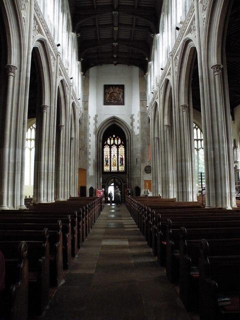 Nave, St Mary's church