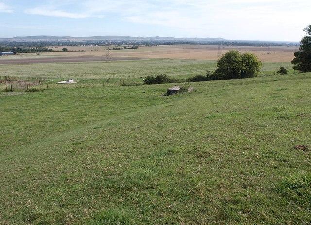 Slopes of Urchfont Hill