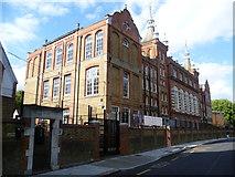 TQ3176 : Charles Edward Brooke Girls' School, Cormont Road by Marathon