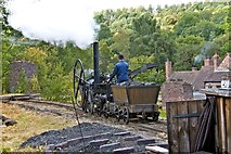 SJ6903 : Trevithick's Steam Engine, Blists Hill by Paul Buckingham