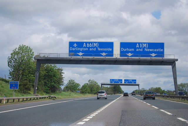 Junction 57, A1(M)