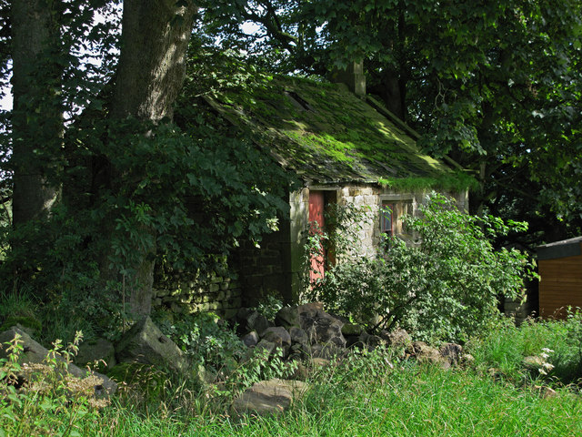 Outbuilding at Brimham Lodge.