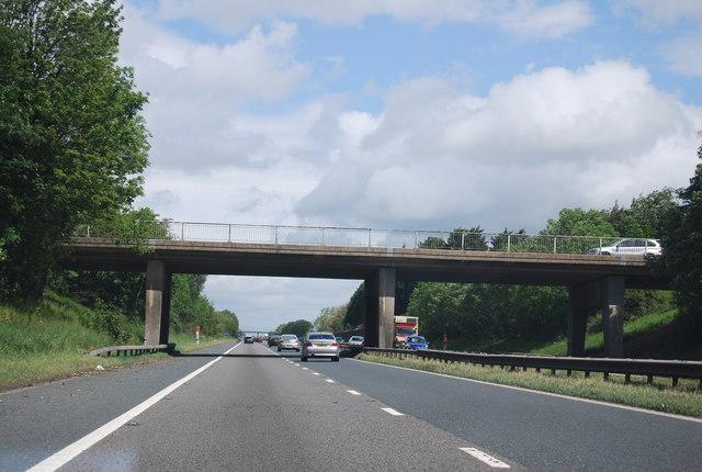 A67 overbridge, A1(M)