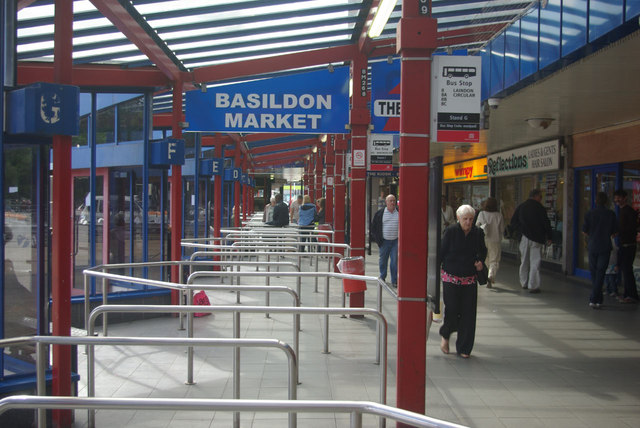 Basildon Bus Station