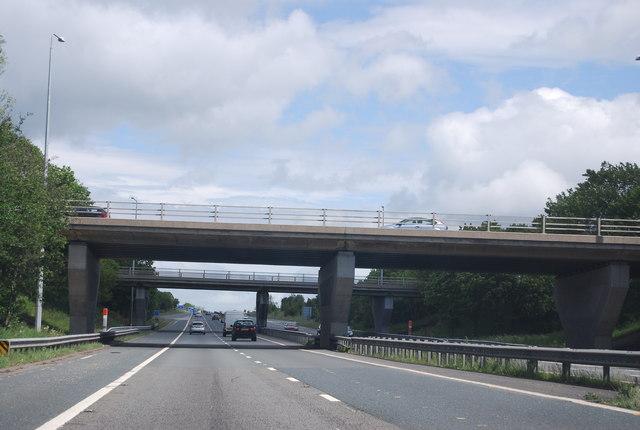 Junction 58 overbridges, A1(M)