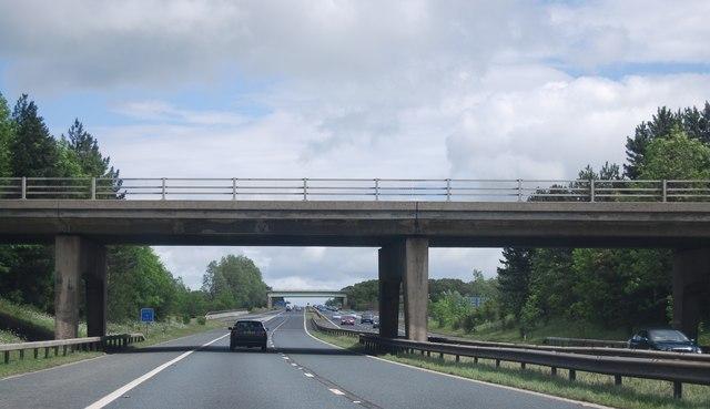 Junction 59 overbridge, A1(M)