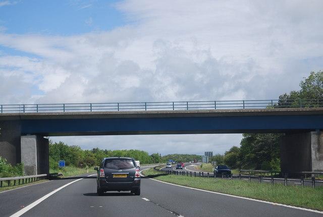Overbridge Junction 60, A1(M)