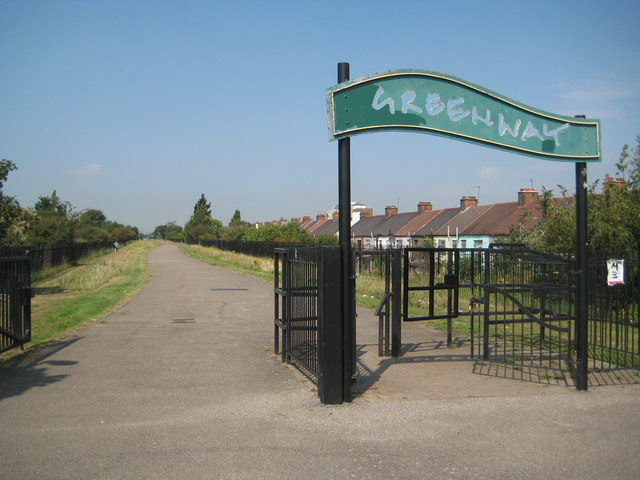 East Ham: The Greenway and the Northern Outfall Sewer