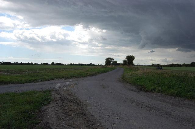 Rainclouds over Romney Marsh