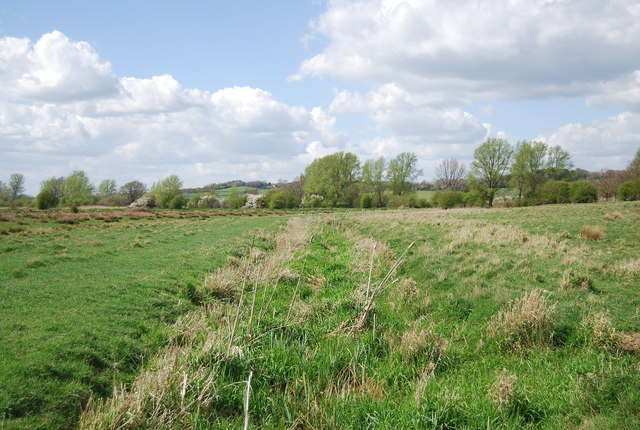 Shallow ditch in the Brede Valley
