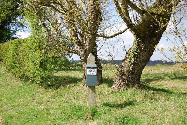 Lower Snailham Post