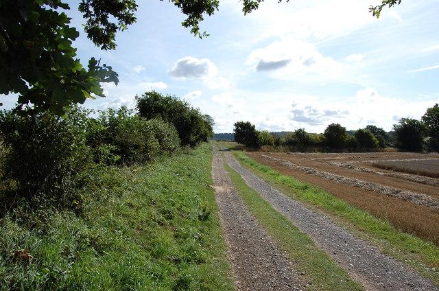 Track near Bodiam Castle